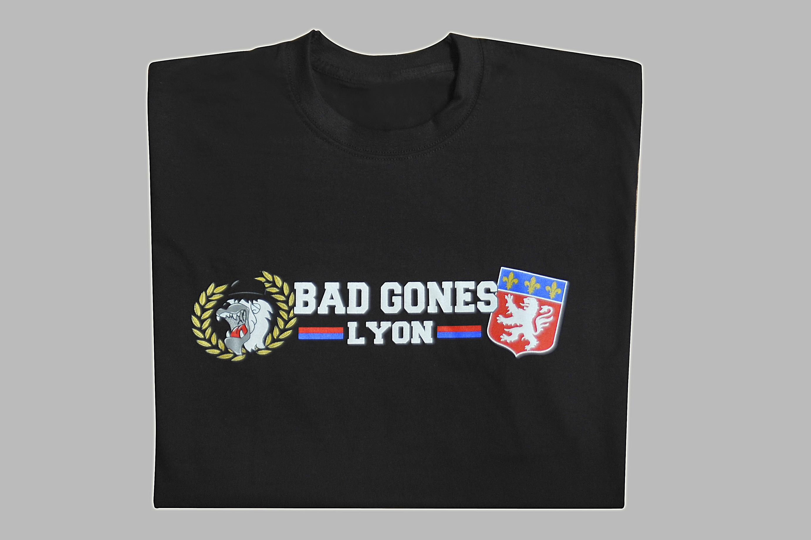 T-Shirt Bad Gones Lyon