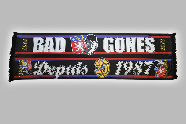 Echarpe Satin BAD GONES 25 ans