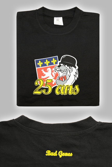 T-Shirt 25 ans Bad Gones