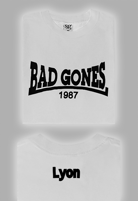 T-Shirt Bad Gones Typo Lonsdale